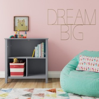 Cozy Bookcase Ideas For Kids Room 11