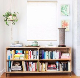 Cozy Bookcase Ideas For Kids Room 25