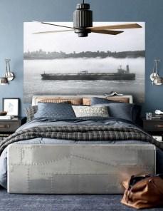 Cute Love Blue Ideas For Teenage Bedroom 05