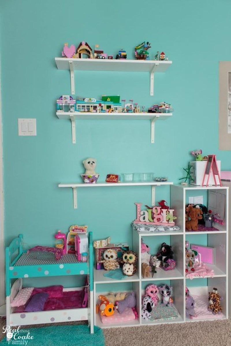 Cute Love Blue Ideas For Teenage Bedroom 08
