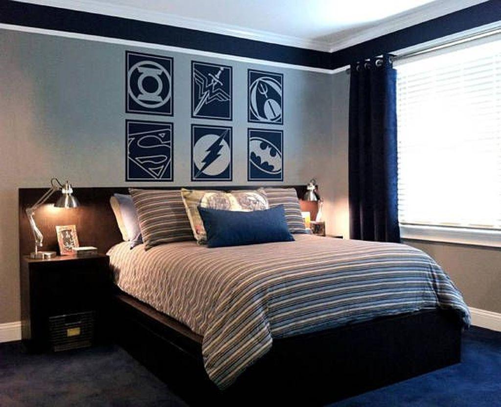 Cute Love Blue Ideas For Teenage Bedroom 13