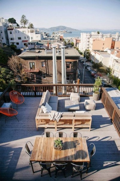Stunning Roof Terrace Decorating Ideas That You Should Try 32