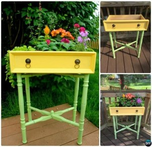 Unique Old Furniture Repurposing Ideas For Yard And Garden 21