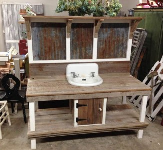 Unique Old Furniture Repurposing Ideas For Yard And Garden 36