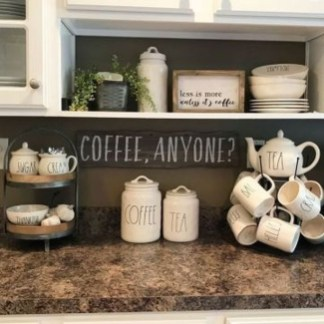 Affordable Diy Mini Coffee Bar Design Ideas For Home Right Now 17
