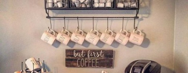 Affordable Diy Mini Coffee Bar Design Ideas For Home Right Now 39