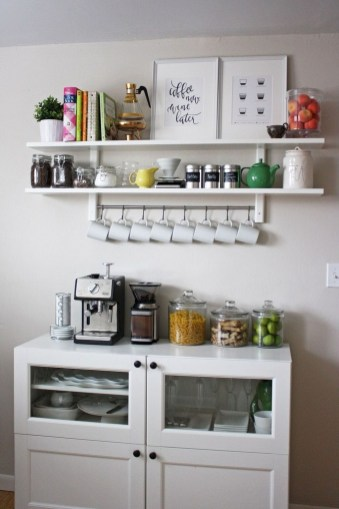 Affordable Diy Mini Coffee Bar Design Ideas For Home Right Now 51