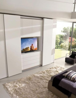 Amazing Sliding Door Wardrobe Design Ideas 06