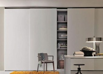 Amazing Sliding Door Wardrobe Design Ideas 16