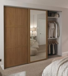 Amazing Sliding Door Wardrobe Design Ideas 18