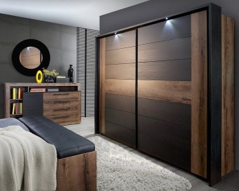 Amazing Sliding Door Wardrobe Design Ideas 21