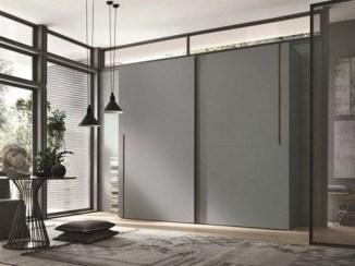 Amazing Sliding Door Wardrobe Design Ideas 24