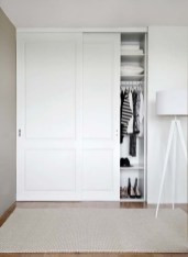 Amazing Sliding Door Wardrobe Design Ideas 28