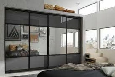 Amazing Sliding Door Wardrobe Design Ideas 37