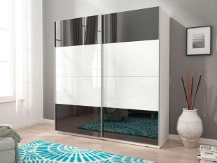 Amazing Sliding Door Wardrobe Design Ideas 45