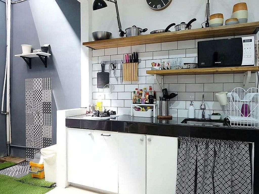 Brilliant Kitchen Set Design Ideas That You Must Try In Your Home 39