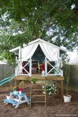 Captivating Treehouse Ideas For Children Playground 42
