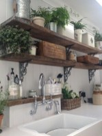 Enchanting Farmhouse Kitchen Decor Ideas To Try Nowaday 35