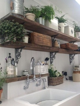 Enchanting Farmhouse Kitchen Decor Ideas To Try Nowaday 35