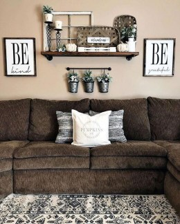 Fancy Farmhouse Living Room Decor Ideas To Try 27