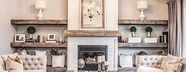 Fancy Farmhouse Living Room Decor Ideas To Try 38