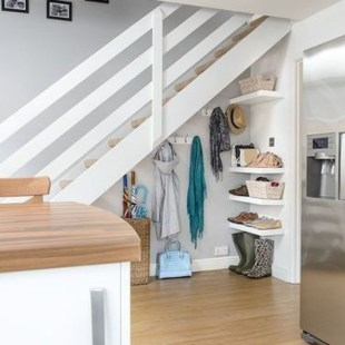 Fantastic Storage Under Stairs Ideas 22
