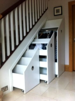Fantastic Storage Under Stairs Ideas 33