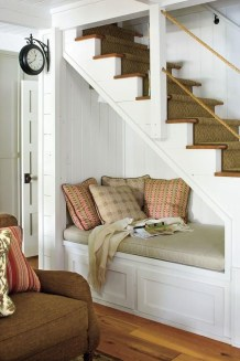 Fantastic Storage Under Stairs Ideas 34