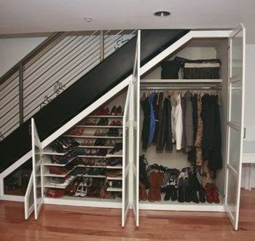 Fantastic Storage Under Stairs Ideas 40