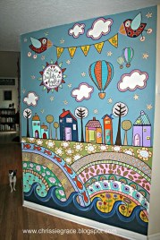 Latest Wall Painting Ideas For Home To Try 23