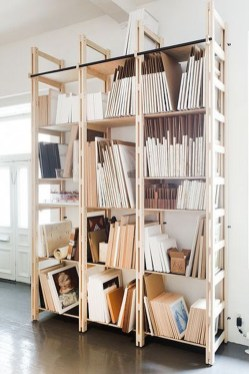 Perfect Storage Ideas For Your Apartment Decoration 26