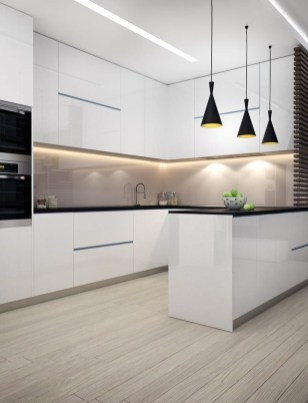 Pretty Kitchen Design Ideas That You Can Try In Your Home 35