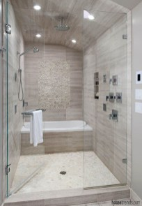 Relaxing Master Bathroom Shower Remodel Ideas 34