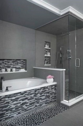 Relaxing Master Bathroom Shower Remodel Ideas 40