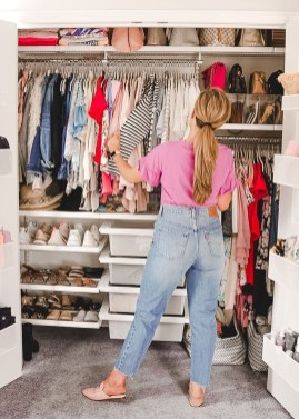 Simple Custom Closet Design Ideas For Your Home 09