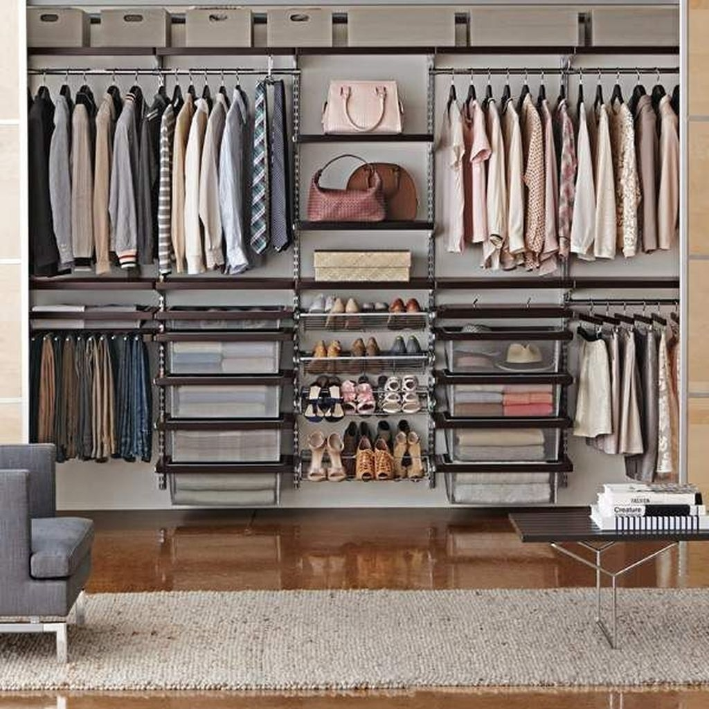 Simple Custom Closet Design Ideas For Your Home 16