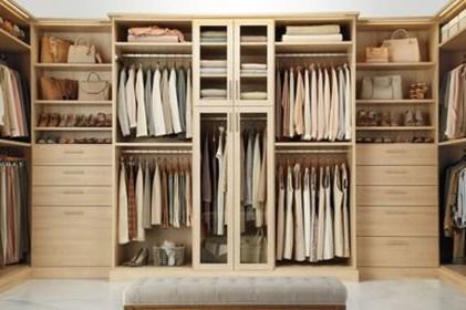 Simple Custom Closet Design Ideas For Your Home 23