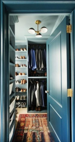 Simple Custom Closet Design Ideas For Your Home 34