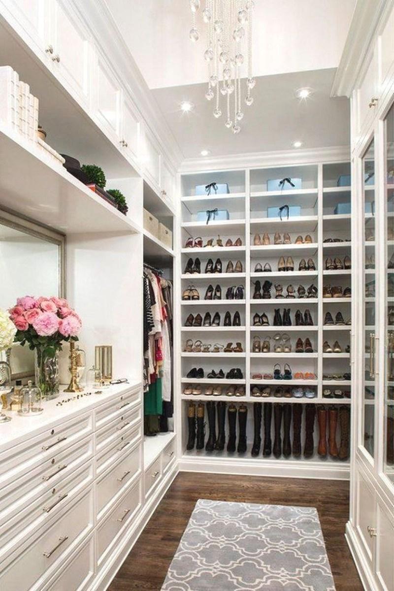 Simple Custom Closet Design Ideas For Your Home 40