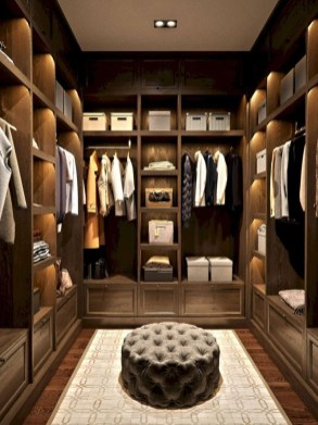 Simple Custom Closet Design Ideas For Your Home 43