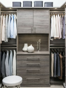Simple Custom Closet Design Ideas For Your Home 50