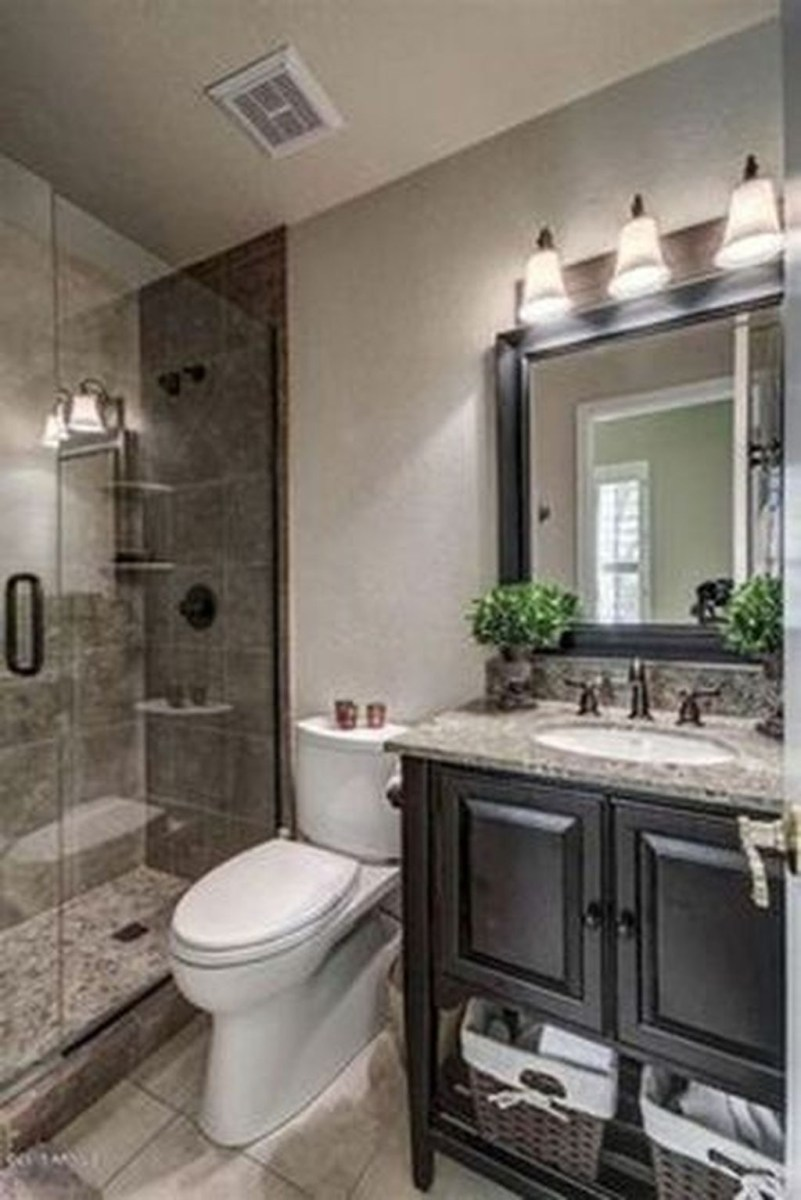 Splendid Small Bathroom Remodel Ideas For You 20
