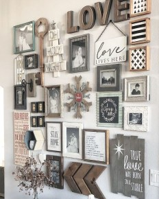 Superb Farmhouse Wall Decor Ideas For You 32