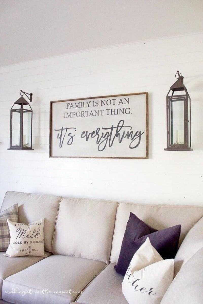 Superb Farmhouse Wall Decor Ideas For You 40