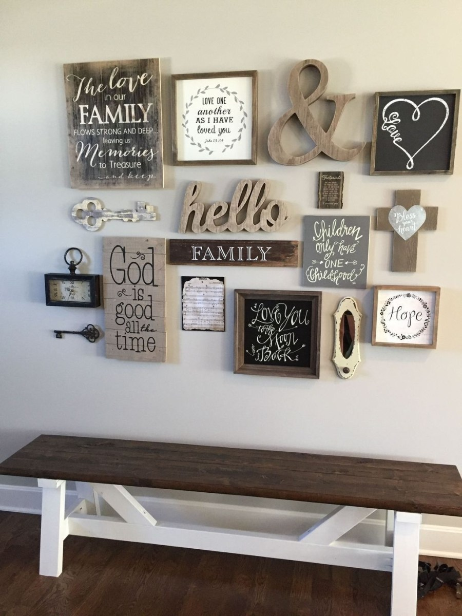 Superb Farmhouse Wall Decor Ideas For You 41