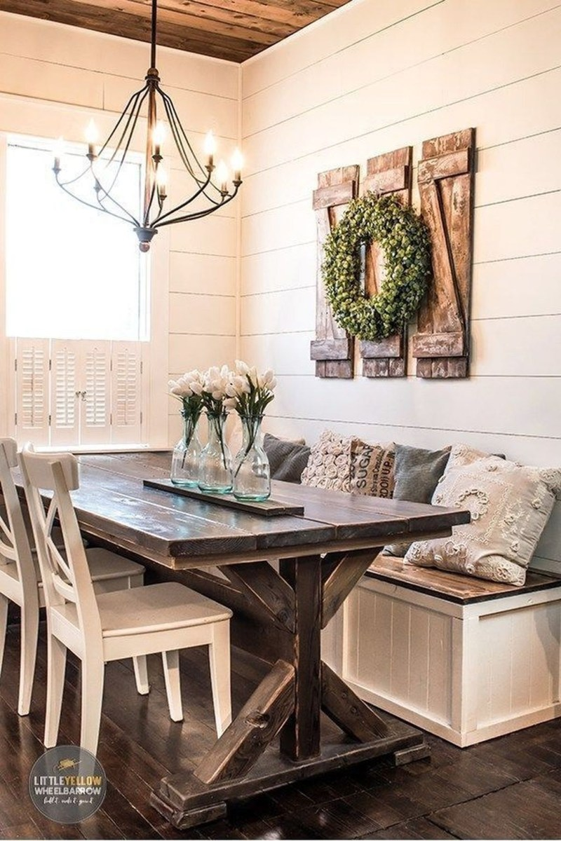Superb Farmhouse Wall Decor Ideas For You 42