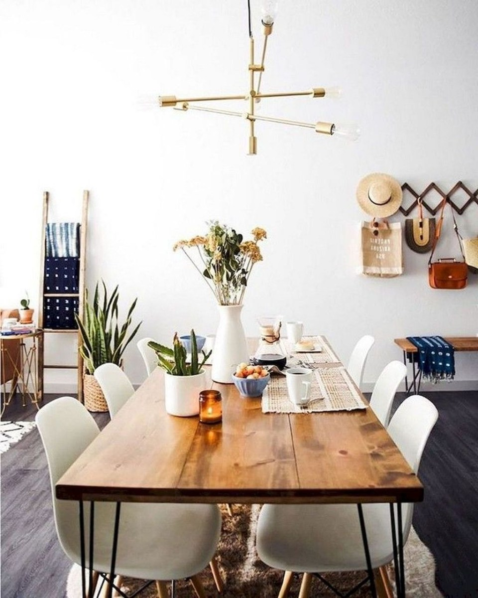 Trendy Dining Table Design Ideas That Looks Amazing 03
