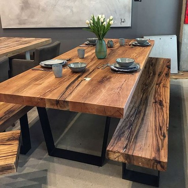 Trendy Dining Table Design Ideas That Looks Amazing 49