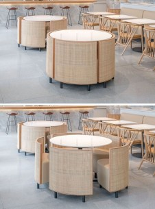 Trendy Dining Table Design Ideas That Looks Amazing 50