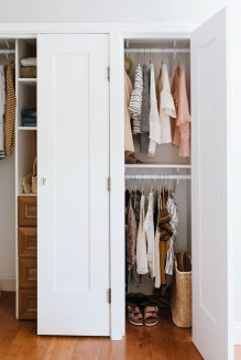 Unordinary Crafty Closet Organization Ideas To Apply Asap 54